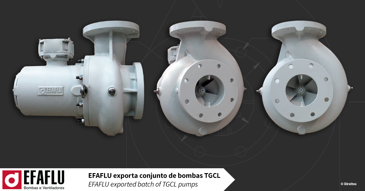 Efaflu Exported Batch Of Tgcl Pumps